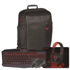 Kit tastatura si mouse Redragon Gaming Essentials 5-in-1