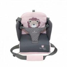 Inaltator scaun masa portabil Olmitos Pink Lion