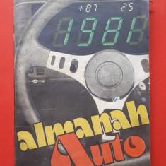 ALMANAH AUTO  =  1981