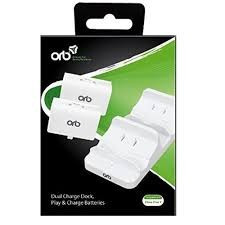 ORB Dual Charge Dock Alb