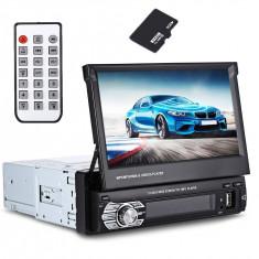 Navigatie Auto , Radio Player Mp5 GPS, 7 inch, 1DIN, usb aux sdcard