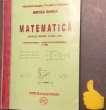 Matematica Manual pentru clasa a XI-a  Mircea Ganga curriculum diferentiat 3 ore