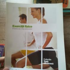 Romania libera: Exercitii fizice