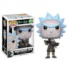Figurina Pop! Rick & Morty: Weaponized Rick