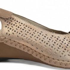 Sandale dama cu talpa ortopedica Rieker 66167 rosa