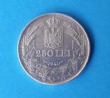 Moneda din argint 250 Lei 1941 Regele Mihai