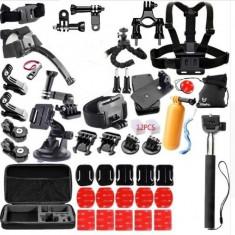 Kit accesorii 57 in 1 universal pentru camere de actiune