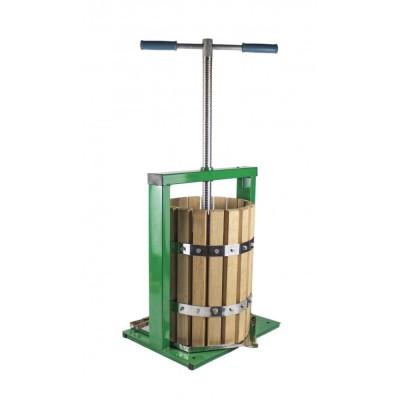 Teasc de struguri 20 litri lemn, Presa pentru struguri Vilen foto