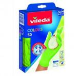 Manusi de unica folosinta Vileda color S/M 50buc