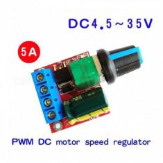 Modul VARIATOR / DIMMER TENSIUNE PWM, TURATIE MOTOR CC ( DC )