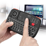 Mini tastatura Bluetooth iluminata, touchpad unique scroll, PC TV Box iOS Android