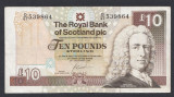 A5338 Scotland Scotia 10 pounds 2007