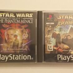 LOT 2 Jocuri -  Star Wars -  Phantom + Jedi  - PS 1 [Second hand], Actiune