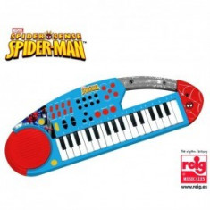 Orga electronica cu microfon Spiderman - Reig Musicales