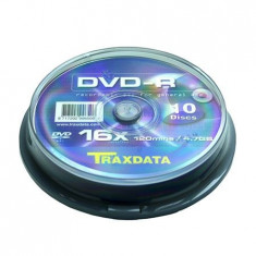 DVD-R TRAXDATA 4,7GB 16X CAKE 10BUC EuroGoods Quality