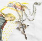 Lant/Lantisor/Colier/Pandantiv anime full metal alchimist cruce alchimie