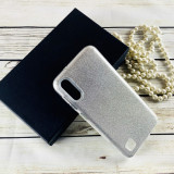 Cumpara ieftin Husa silicon 3 in 1 cu sclipici Samsung J6 plus - Silver