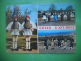 HOPCT 56844 COSTUME POPULARE DIN GRECIA -STAMPILOGRAFIE -CIRCULATA, Printata