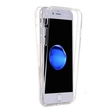Capac de protectie Full TPU 360° pentru iPhone 6 Plus / 6S Plus, transparent