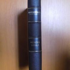 MEDICINA LEGALA IN CONFORMITATE CU DISPOZITIILE CODULUI PENAL SI A PROCEDURII PENALE REGELE CAROL AL II-LEA de M. KERNBACH , 1937