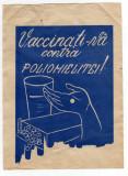 RECLAMA  PROPAGANDA VACCINATI-VA CONTRA POLIOMIELITEI SANEPID 1962 MEDICINA
