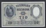 A5158 Sweden Suedia 10 kronor 1958 SEMNATURI DIFERITE UNC