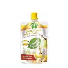 Piure Bio de Fructe Pere Banane Mere si Fulgi de Quinoa Probios 100gr Cod: 8018699021864