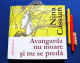 Nina Cassian-Avangarda nu moare si nu se preda (poeme+desene; princeps, de lux), Nemira