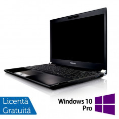 Laptop Refurbished Toshiba Portege R830-13C, Intel Core I5-2520M 2.50Ghz, 8GB, 320GB SATA, 13.3 inch LED, HDMI, Card Reader + Windows 10 Pro, 8 Gb, HDD