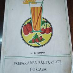 PREPARAREA BAUTURILOR IN CASA  N GHERMAN