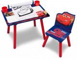 Set masuta pentru creatie si 1 scaunel Cars, Delta Children