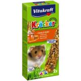Baton hamster miere-grau spelt, 2buc, 112gr, Vitaktaft