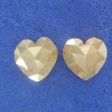 Diamante naturale 0.40 ct taiate inimioara
