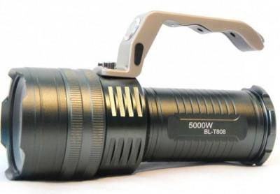 Lanterna Profesionala Led XML T6 3 Acumulatori Model BL T808 T6 foto