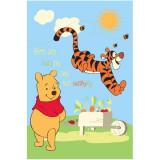 Covor copii Pooh si Tiger model 416 140x200 cm Disney