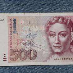 500 Mark 1991 Germania RFG, marci germane
