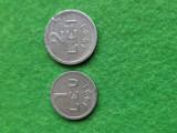 Monede 1 leu si 2 lei 1951