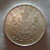 Romania, 200 lei 1942_argint * cod 130