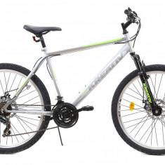 Bicicleta MTB Kreativ 2605 500mm Gri Verde 26