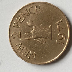 i264 GUERNSEY 2 NEW PENCE 1971