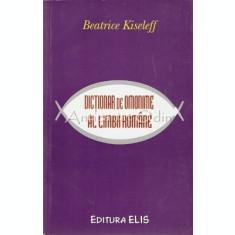 Dictionar De Omonime Al Limbii Romane - Beatrice Kiseleff
