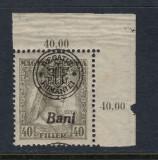 ROMANIA 1919 - CLUJ ORADEA  ZITA EROARE MONOGRAM SUPRATIPAR DEPLASAT MNH BODOR, Nestampilat