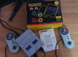 Consola 16bits Super Nintendo & Sega genesis/megadrive, SD Card, Save&Load game