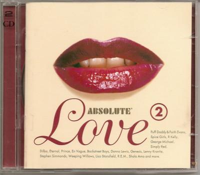 CD - Various – Absolute Love 2 foto