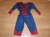 Costum carnaval serbare spiderman pentru copii de 1-2 ani, Din imagine