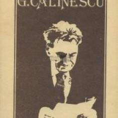 Ion Bălu - Viața lui G. Călinescu