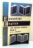 ESSENTIAL ENGLISH FOR FOREIGN STUDENTS BOOK 3 by C. E. ECKERSLEY , 1966