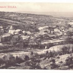 4751 - SOLKA, Bukowina, Panorama, Romania - old postcard - unused, Necirculata, Printata