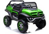 Masinuta electrica Mercedes Unimog, verde