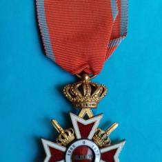 Ordinul Coroana Romaniei 1938 - militar pe timp de razboi